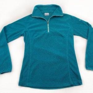 🔥🔥 Columbia Fleece Half Zip Womens Small